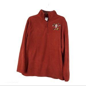 5/20 Disney Store MENS Grumpy Haft Zip Pullover